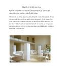 Lộng lẫy với nội thất màu trắng