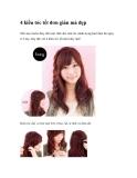 4 kiểu tóc tết đơn giản mà đẹp