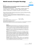 """Báo cáo khoa học: """"Special problems encountering surgical management of large retroperitoneal schwannomas"""""""