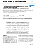 """Báo cáo khoa học: """"Lung adenocarcinoma presenting as obstructive jaundice: a case report and review of literature"""""""