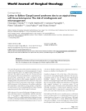 """Báo cáo khoa học: """"Letter to Editor: Carpal tunnel syndrome due to an atypical deep soft tissue leiomyoma: The risk of misdiagnosis and mismanagement"""""""