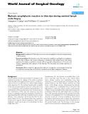 "Báo cáo khoa học: ""Biphasic anaphylactic reaction to blue dye during sentinel lymph node biopsy"""