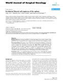 "Báo cáo khoa học: ""Incidental littoral cell angioma of the spleen"""