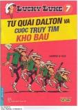 Lucky Luke tập 07 (xuất bản 2011) - Tứ quái Dalton và cuộc truy tìm kho báu