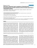 """Báo cáo y học: """"p53 tumor suppressor gene mutations in fibroblast-like synoviocytes from erosion synovium and non-erosion synovium in rheumatoid arthritis"""""""