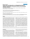 """Báo cáo y học: """"Natural killer cell dysfunction is a distinguishing feature of systemic onset juvenile rheumatoid arthritis and macrophage activation syndrome"""""""