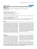 """Báo cáo y học: """"ANKH variants associated with ankylosing spondylitis: gender difference"""""""