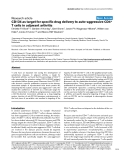 """Báo cáo y học: """"CD134 as target for specific drug delivery to T cells in adjuvant arthritis"""""""