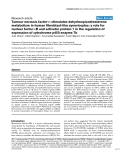 """Báo cáo y học: """" Tumour necrosis factor-α stimulates dehydroepiandrosterone metabolism in human fibroblast-like synoviocytes: a role for nuclear factor-κB and activator protein-1 in the regulation of expression of cytochrome p450 enzyme 7b"""""""