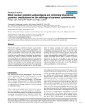 """Báo cáo y học: """"Most nuclear systemic autoantigens are extremely disordered proteins: implications for the etiology of systemic autoimmunity"""""""