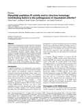 """Báo cáo y học: """"Dipeptidyl peptidase IV activity and/or structure homologs: Contributing factors in the pathogenesis of rheumatoid arthritis"""""""