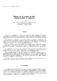 """Báo cáo lâm nghiệp: """"Mesure de la couleur du bois. Intérêt forestier et industriel"""""""
