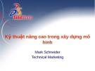 Bài giảng: Kỹ thuật nâng cao trong xây dựng mô hình