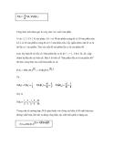 Các công thức xác suất trong môn xác suất thống kê - 2
