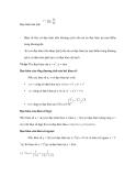 Tự ôn toán với các công thức tính đạo hàm giới hạn và vi phân - 2
