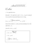 Véc tơ ngẫu nhiên  trong xác suất thống kê - 2
