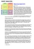 Phân tích mô hình SWOT