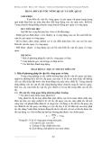 Bài giảng về Kỹ thuật cảm biến