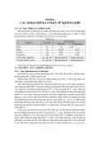 Kỹ thuật xử lí khí thải - Chương 1