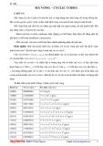 Mã vòng - Cyclic codes