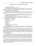 THÍ NGHIỆM KỸ THUẬT GIAO THÔNG - BÀI 2