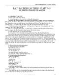 THÍ NGHIỆM KỸ THUẬT GIAO THÔNG - BÀI 7