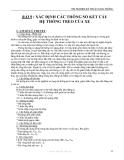 THÍ NGHIỆM KỸ THUẬT GIAO THÔNG - BÀI 9