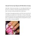 Làm mới Nail của bạn bằng họa tiết Hello Kitty ấn tượng