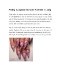 Những mảng màu thú vị cho Nail xinh tỏa sáng