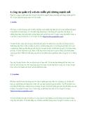 4 công cụ quản trị website miễn phí nhưng mạnh mẽ
