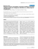 """Báo cáo y học: """"Metalloproteinase and inhibitor expression profiling of resorbing cartilage reveals pro-collagenase activation as a critical step for collagenolysis"""""""