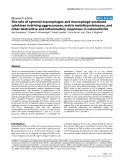 """Báo cáo y học: """"The role of synovial macrophages and macrophage-produced cytokines in driving aggrecanases, matrix metalloproteinases, and other destructive and inflammatory responses in osteoarthritis"""""""