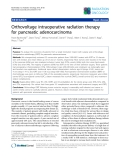 """Báo cáo khoa học: """"Orthovoltage intraoperative radiation therapy for pancreatic adenocarcinoma"""""""