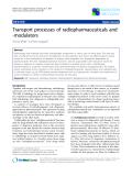 "Báo cáo khoa học: ""Transport processes of radiopharmaceuticals and -modulators"""