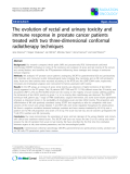 """Báo cáo khoa học: """"The evolution of rectal and urinary toxicity and immune response in prostate cancer patients treated with two three-dimensional conformal radiotherapy techniques"""""""