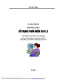 Hướng dẫn sử dụng phần mềm EFG 1.3