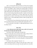 Đề thi môn luật tố tụng dân sự (kèm lời giải) - Đề 8