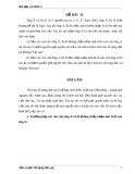 Đề thi môn luật tố tụng dân sự (kèm lời giải) - Đề 12.2