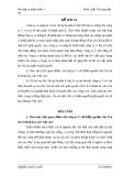 Đề thi môn luật tố tụng dân sự (kèm lời giải) - Đề 14