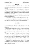 Đề thi môn luật tố tụng dân sự (kèm lời giải) - Đề 16