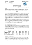Bài thu hoạch môn kinh tế đối ngoại