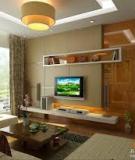 Xu hướng thiết kế phòng khách hiện đại