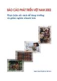 Báo cáo: Thực hiện cải cách để tăng trưởng và giảm nghèo nhanh hơn