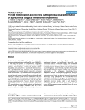 """Báo cáo y học: """" Forced mobilization accelerates pathogenesis: characterization of a preclinical surgical model of osteoarthriti"""""""
