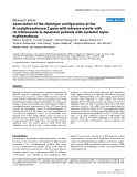"""Báo cáo y học: """"Association of the diplotype configuration at the N-acetyltransferase 2 gene with adverse events with co-trimoxazole in Japanese patients with systemic lupus erythematosus"""""""