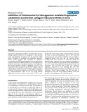"""Báo cáo y học: """" Inhibition of indoleamine 2,3-dioxygenase-mediated tryptophan catabolism accelerates collagen-induced arthritis in mice"""""""