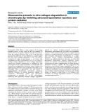 """Báo cáo y học: """"Glucosamine prevents in vitro collagen degradation in chondrocytes by inhibiting advanced lipoxidation reactions and protein oxidation"""""""