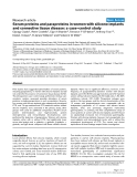 """Báo cáo y học: """"Serum proteins and paraproteins in women with silicone implants and connective tissue disease: a case–control study"""""""