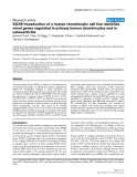 """Báo cáo y học: """"SOX9 transduction of a human chondrocytic cell line identifies novel genes regulated in primary human chondrocytes and in osteoarthritis"""""""