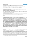 """Báo cáo y học: """"Cross-sectional analysis of adverse outcomes in 1,029 pregnancies of Afro-Caribbean women in Trinidad with and without systemic lupus erythematosus"""""""